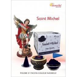 """Archange Saint Michel """" AROMATIKA POUDRE 100 GR"""" (avec kit pour cônes)"""