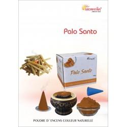 """Palo Santo """"AROMATIKA POUDRE 100GR"""" (avec kit pour cône)"""