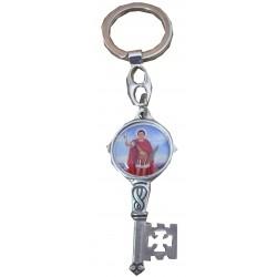 Porte-clé clé Saint Expédit