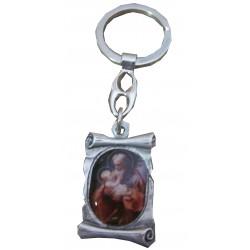 Porte-clé parchemin Saint Joseph