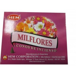 "Cônes milles fleurs ""HEM"""
